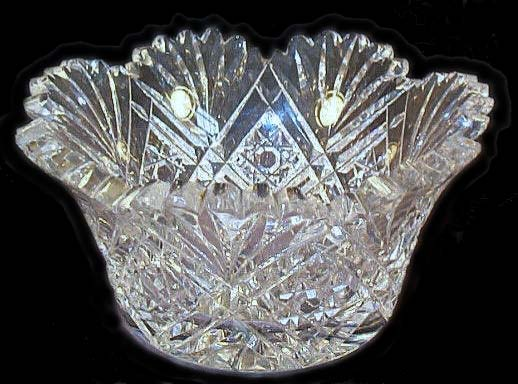 American Brilliant Cut Glass Unique Cut Glass Patterns Identification