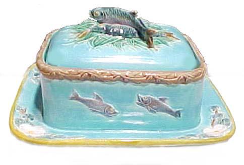 Majolica Holdcroft Sardine Box