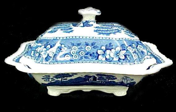Spode Blue Tower Casserole