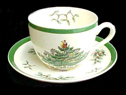 Spode Christmas Cup and Saucer