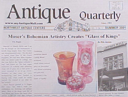 Antique Quarterly Summer 2001