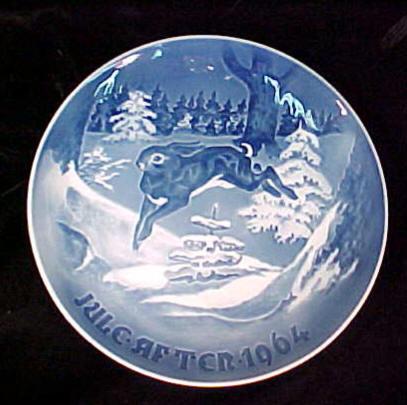 ... Bing and Grondahl Christmas Plate c.1964