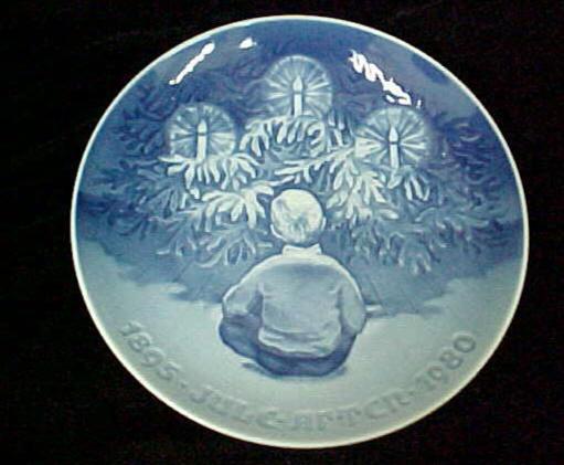 Bing and Grondahl Christmas plate c.1980 ...