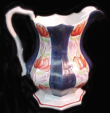Gaudy Welsh Jug w/ Luster Finish $295.00
