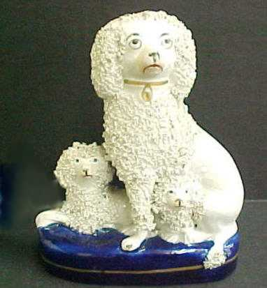 Staffordshire Poodles $425.00