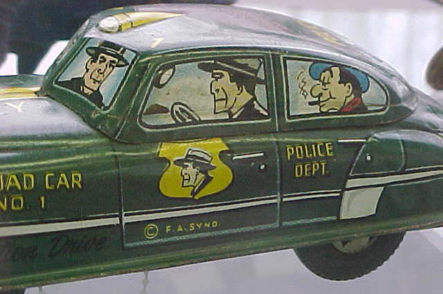 Dick Tracy Toy Car 24
