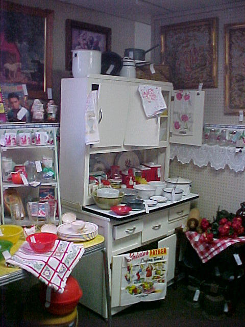 kitchencollectiblesspace43starcentermallvintageantiqueslin
