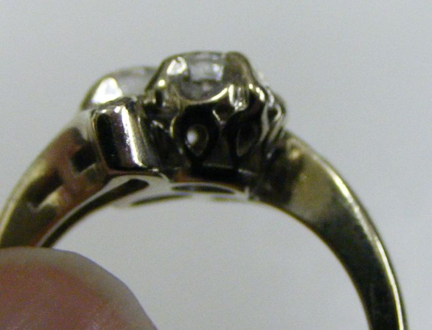Antique Diamond Estate Jewelry