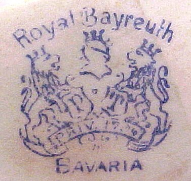 Dating royal bayreuth marks
