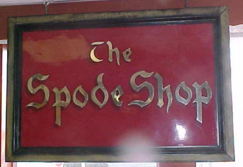 Spode China \ The Spode Shop\  (space #66) and space #118 located in Star Center Antique Mall in Snohomish Washington offer many patterns of Spode Bone & spodebonechina
